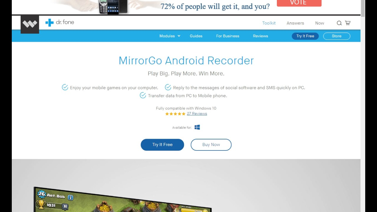 How to mirror project your android mobile screen on pc for Mirror your android screen to a pc