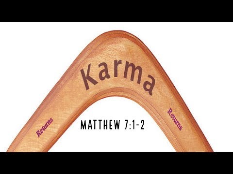 What goes around comes around, Revelations 18: verses 5,6,8