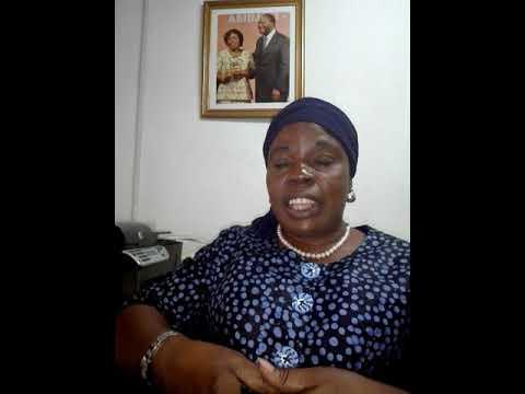 Coulibaly Alimata présidente du Réseau National des Agro-transformatrices de côte d'Ivoire parle..