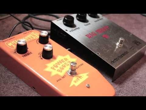 EHX Big Muff and Colorsound Power Boost Tone Tutorial