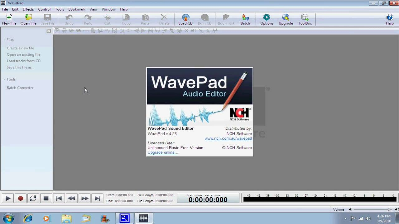 WavePad Sound Editor - Voice Effects - YouTube