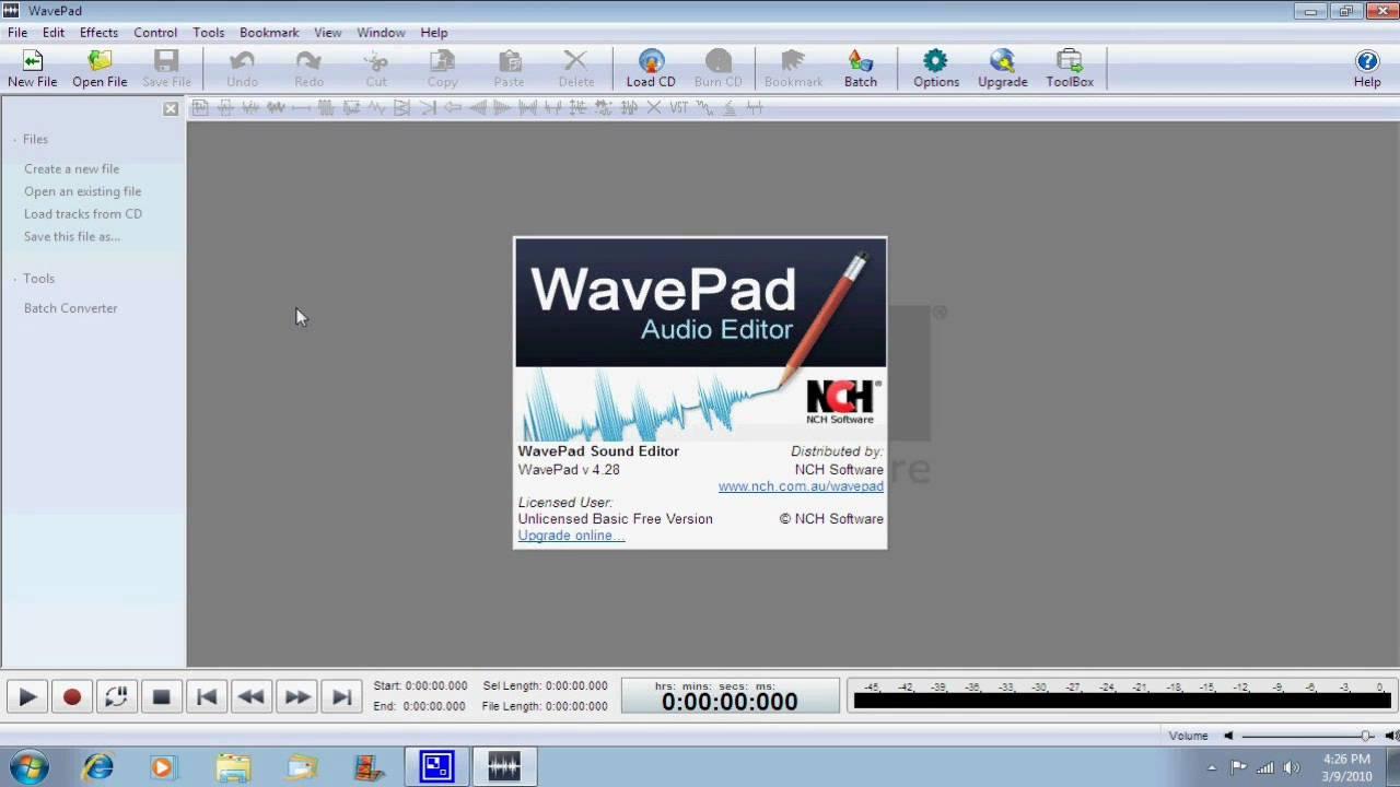 WavePad Sound Editor Master Edition Free Download