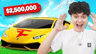SURPRISING FAZE JARVIS WITH HIS DREAM CAR (my Little Brother)
