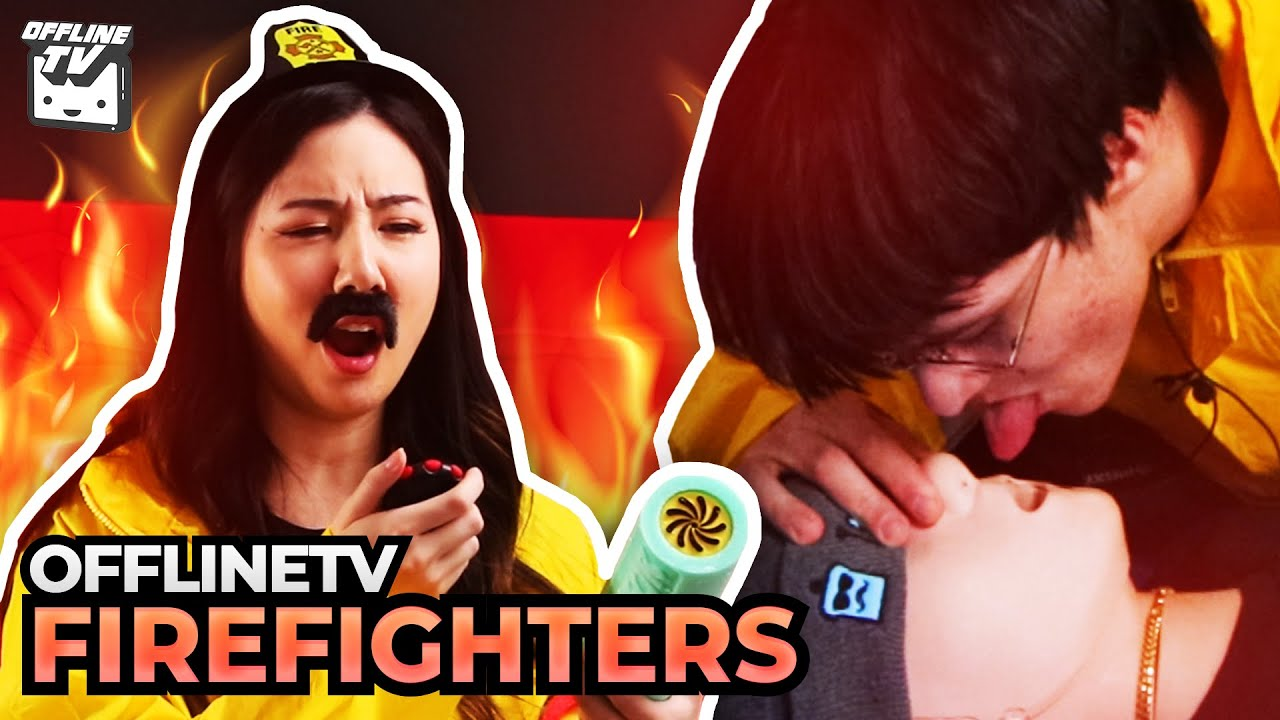 Download OFFLINETV BECOME FIREFIGHTERS! SEARCH AND RESCUE ft. Fuslie Michael Reeves LilyPichu Pokimane Scarra