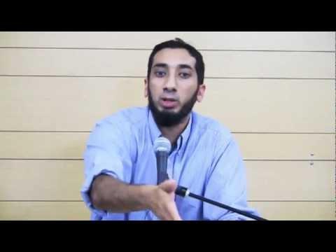 They do Pop Pop you do BRRRR...FUNNY Nouman Ali Khan...