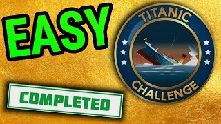 how to do titanic challenge bitlife! survive a shipwreck! learn to swim + art model and more!