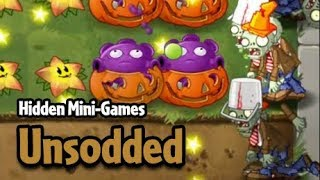 Plants vs. Zombies 2 PAK - Unsodded (Hidden Mini-Game)
