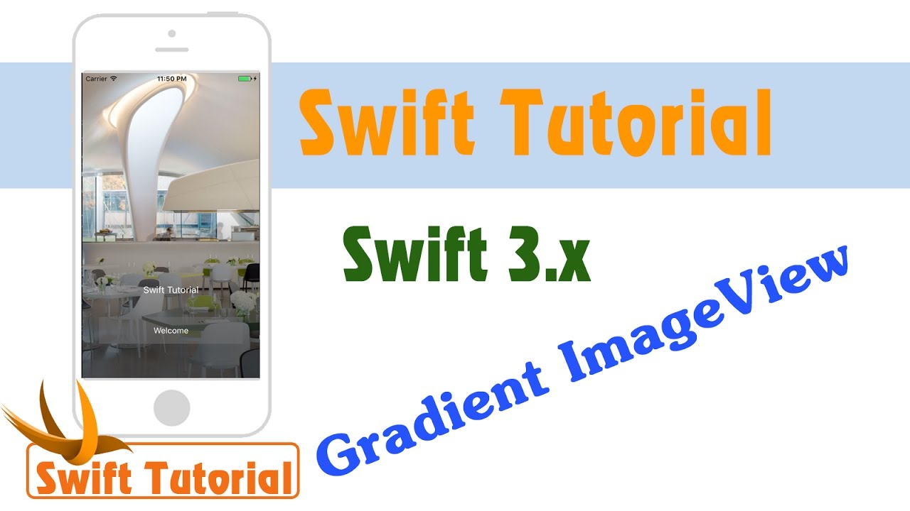 How To Add A Gradient ImageView background In Swift