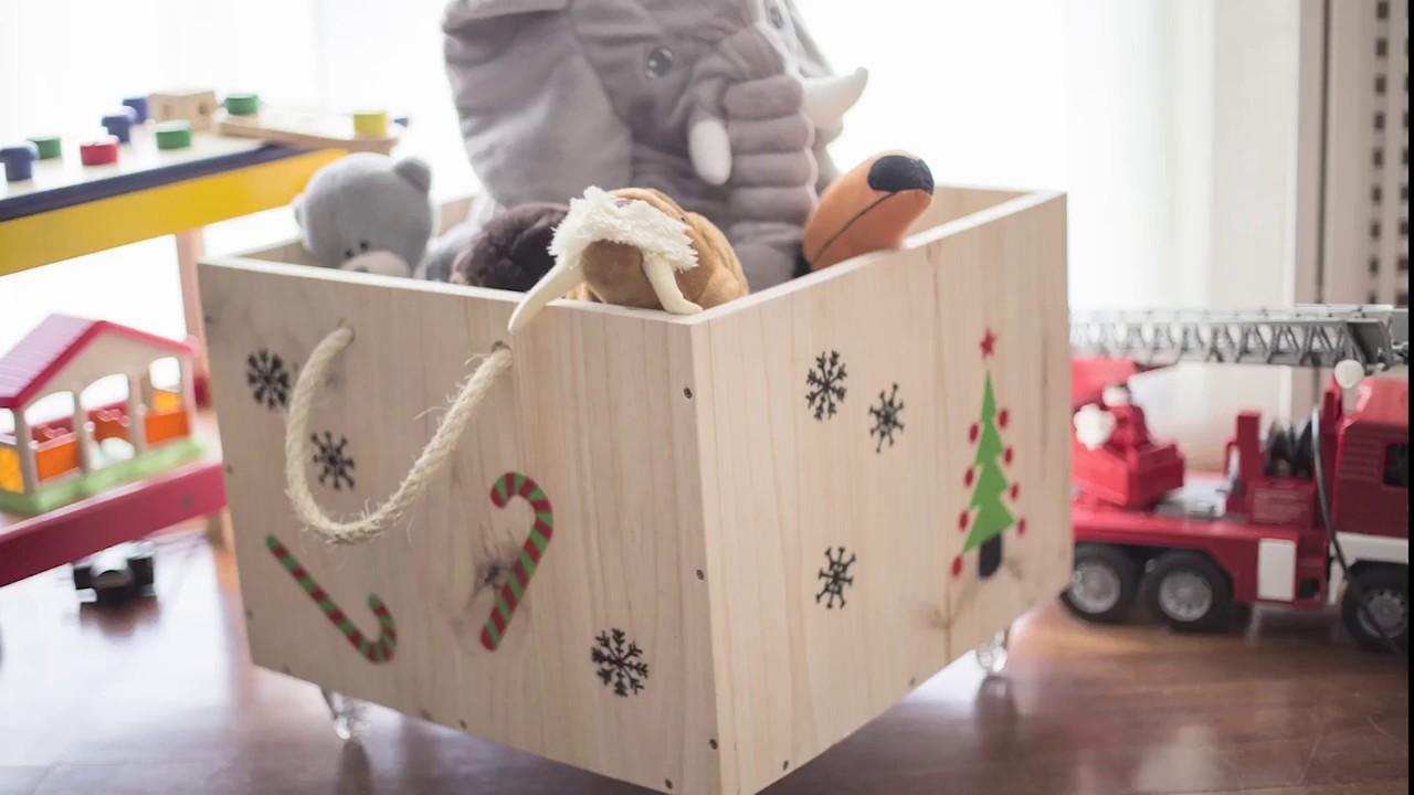 Una Caja Diy Ruedas Hacer Guardar Juguetes Con Para Tutorial Cómo SGVjLpqzMU