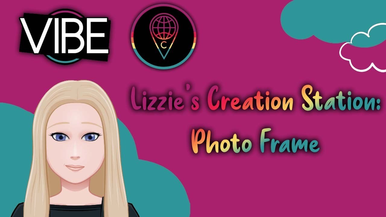 Lizzie's Creation Station: How to Make a Photo Frame