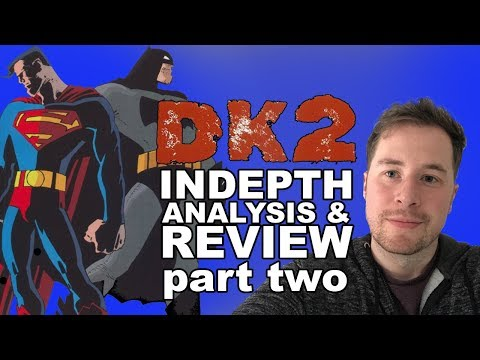 The Dark Knight Strikes Again Review And Indepth Analysis | Book 2 | Road To DK3