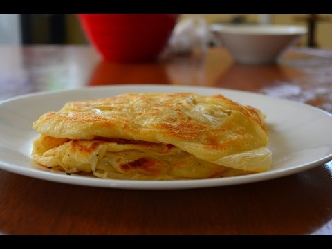 Malaysian Flat Bread - Roti Canai - Full Recipe HD
