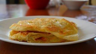 Malaysian Flat Bread - Roti Canai - Full Recipe HD 马来西亚面饼