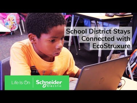 School District Stays Connected with EcoStruxure Modular Data Center | Schneider Electric