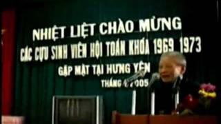 Hội Toán 69 Gặp mặt 2002...tại Hà Nội; 2005 tại Hưng Yên.