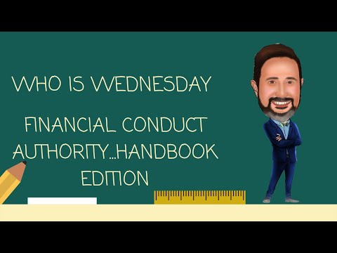 Who is the Financial Conduct Authority.... Handbook Edition