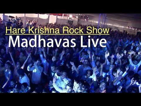 Hare Krishna Mantra Rock Show LIVE | By Madhavas Rock Band