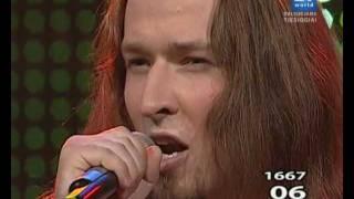 """«YRA ŠALIS» Sunkiojo metalo stiliaus atlikėjas Rokas Baškys - """"Tėvynės veidas"""""""