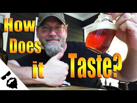 Tasting the Live Green Malt Beer! No Hops, No Problem��