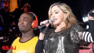 MADONNA CELEBRATION/ GIVE IT 2 ME, MDNA TOUR  LIVE, MADE BY GSDJ