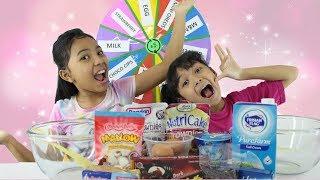 MYSTERY WHEEL OF CAKE CHALLENGE FOR KIDS ♥ RODA KUE