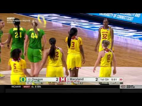 Oregon -vs- Maryland 2017 March Madness