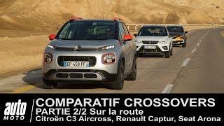 Citroën C3 Aircross, Seat Arona, Renault Captur COMPARATIF (Partie 2/2) Au volant