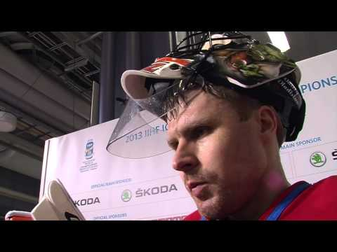 Russia v Latvia Post Game Comments