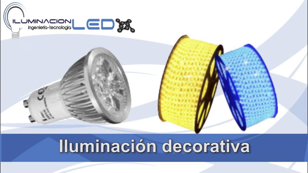 Iluminacion led iluminaci n exterior industrial - Iluminacion led decorativa ...