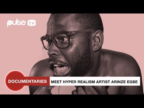 Meet Arinze Stanley, Nigeria's Famous Hyper-Realistic Artist | Business Insider By Pulse
