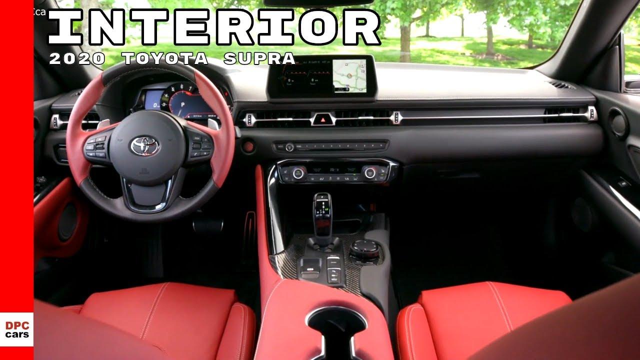 2020 Toyota Supra Interior Images