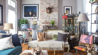 Colorful Maximalism - Boho Home In New Orleans �