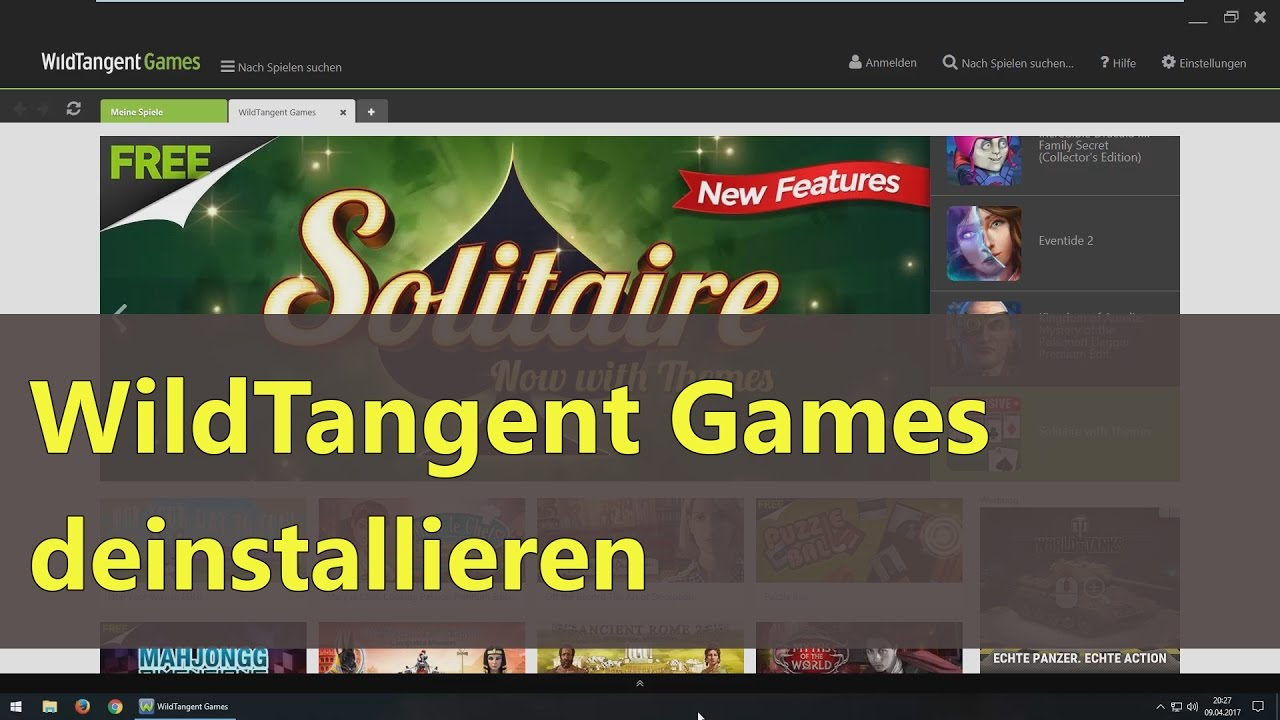 how to keep playing wildtangent games for free