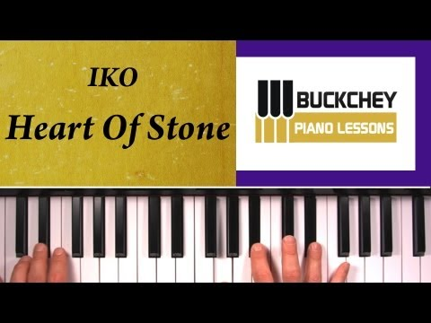 How To Play Heart Of Stone by IKO On Piano