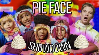 Playing The Pie Face Showdown! Game Time