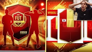 MOJA NAJLEPSZA NAGRODA!! 300000 ZYSKU!! / FIFA 19 ULTIMATE TEAM NAGRODY ZA FUT CHAMPIONS UT