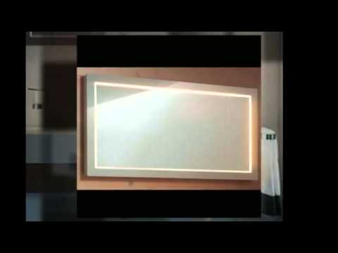 led spiegel leuchten bad youtube. Black Bedroom Furniture Sets. Home Design Ideas