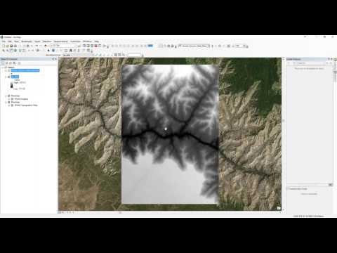 How to create DEM in ArcMap