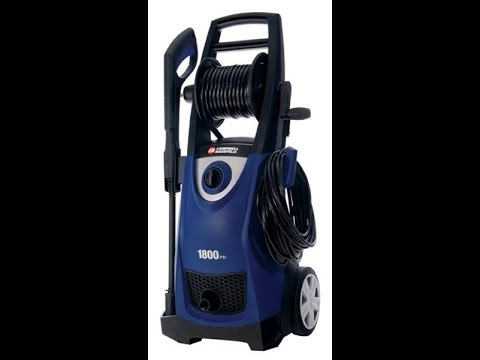 Campbell Hausfeld Electric Pressure Washer Review and Information