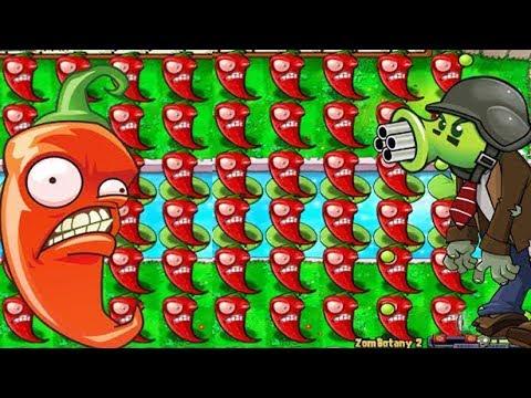 Plants vs Zombies - Hack [Jalapeno vs Zombotany]