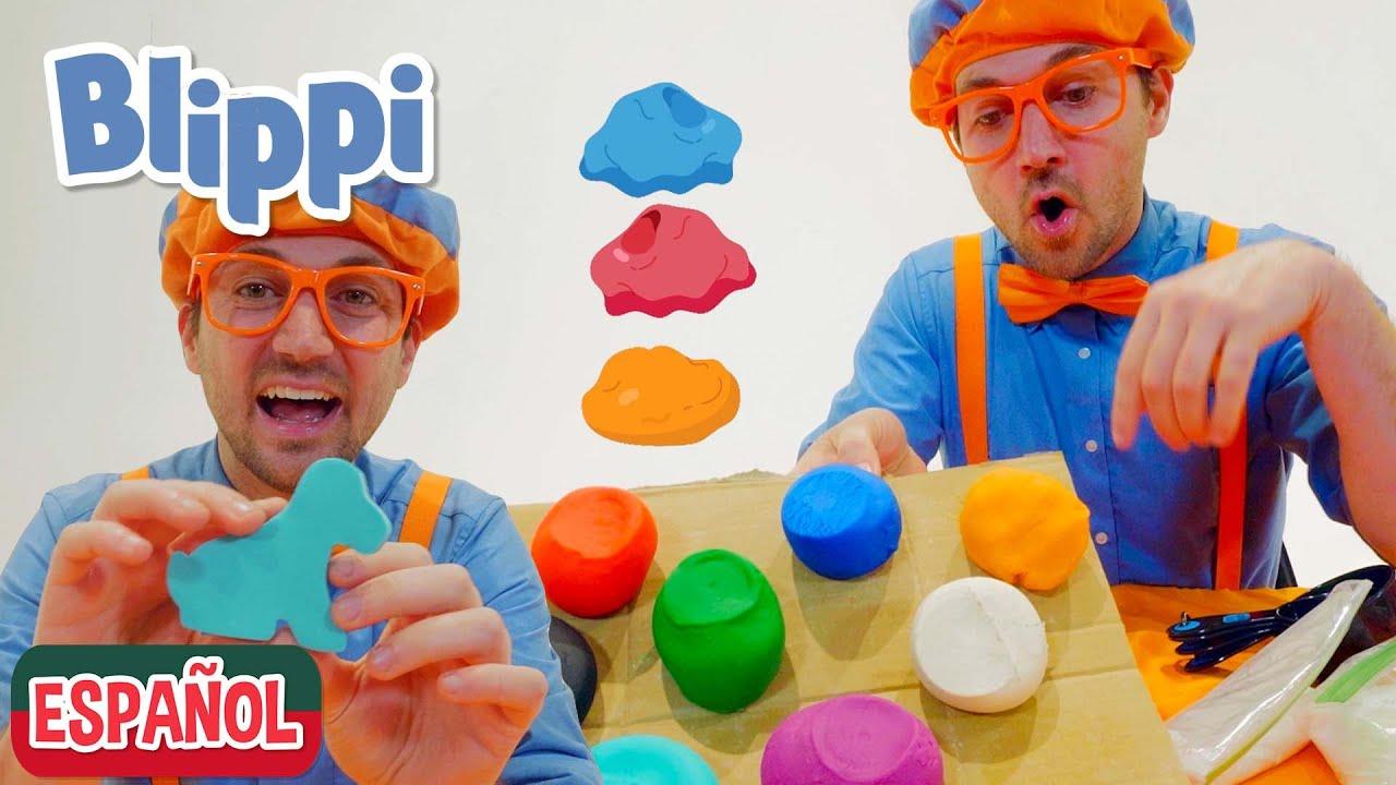 Manualidades, Plastilina y Juegos para Niños con Blippi | Aprende con Blippi | Videos Educativos
