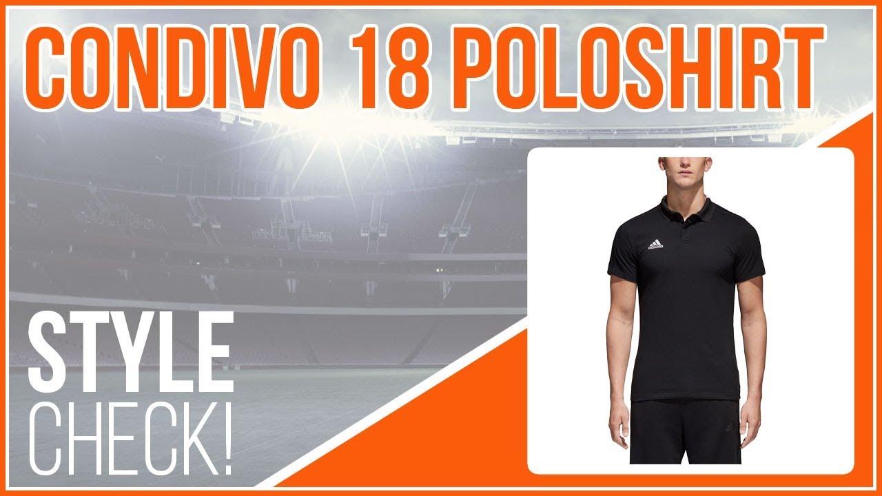 adidas condivo 18 Polo Style Check