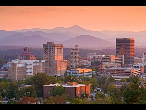 Asheville, North Carolina - Downtown Tour - High Speed Tour