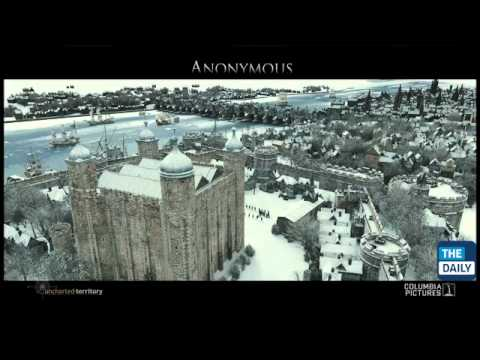 """Visual Effects Rebuild London in """"Anonymous"""""""
