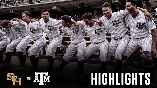 Baseball: Highlights | A&M 6, SHSU 5