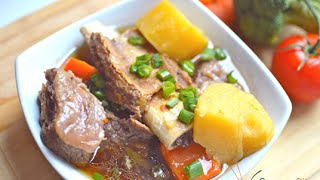 How To Braise Beef Ribs With A Pressure Cooker! Recipe Inspired By Galbi Jjim 갈비찜
