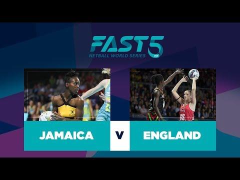 Jamaica v England | Fast5 World Series 2017