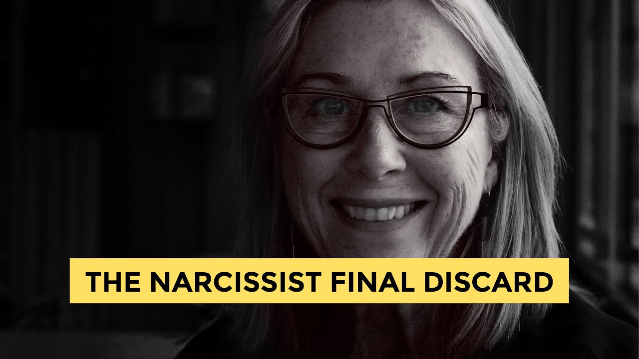 The narcissist final discard  You've dodged a bullet!