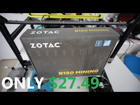 The BEST Mining Motherboard For The PRICE!