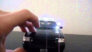 1/18 Riverside County CA. Sheriff Ford Crown Victoria W/Lights And Siren *Custom Order*
